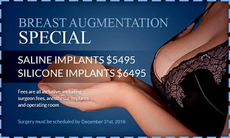 Breast augmentation special